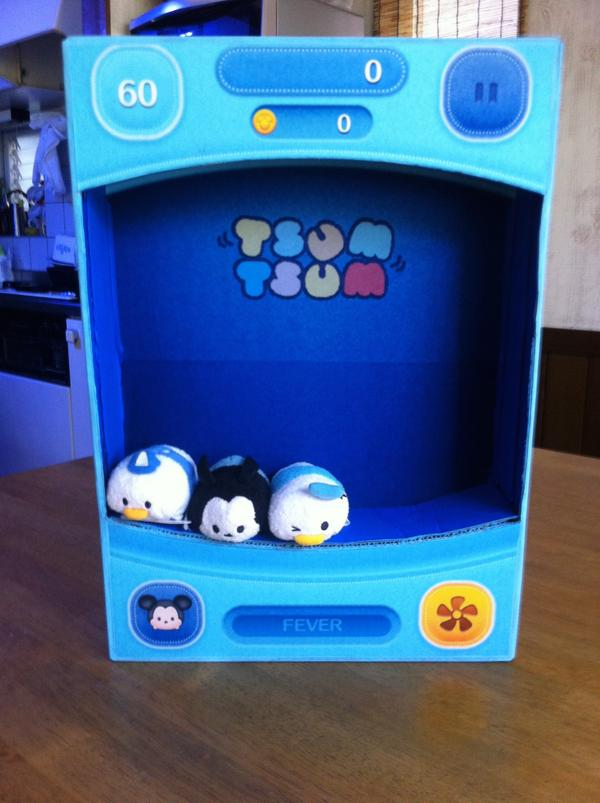聖誕節最佳禮物?日人 DIY 超可愛真實版 Disney Tsum Tsum 機 - UNWIRE.HK