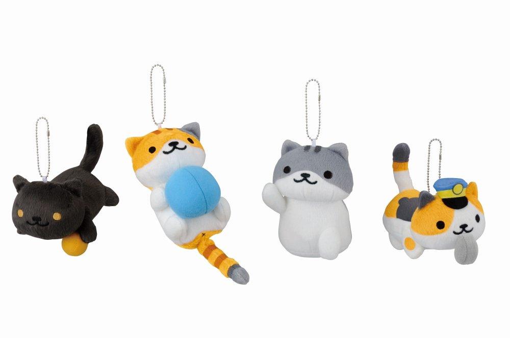 《貓貓收集》跳出螢幕!Banpresto 推出貓貓吊飾 - 香港 unwire.hk