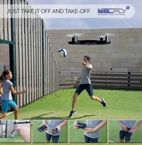 【有片睇】自拍影大合照更方便!SELFLY Camera 航拍與手機殼融為一體 - 香港 unwire.hk