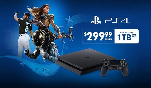 美國 PS4 Slim 減價!500GB 價錢即可入手 1TB 版本 - 香港 unwire.hk
