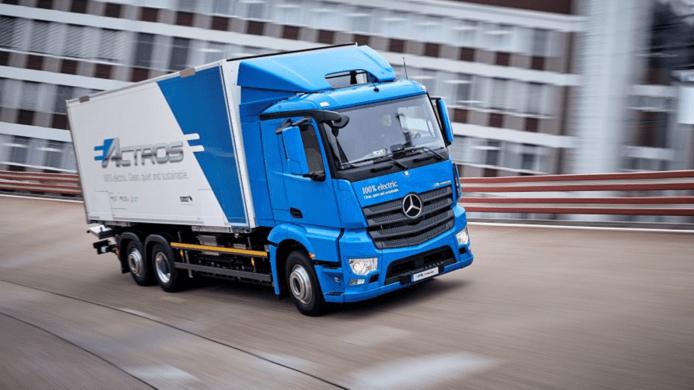 【有片睇】Mercedes-Benz 電動貨車 eActros 交客戶進行營運試用 - 香港 unwire.hk