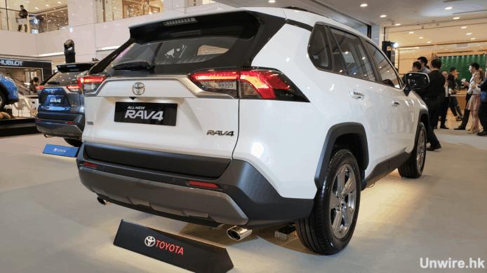 豐田第五代 RAV4 全能型 SUV 抵港 車廂寬敞售25.9萬 - 香港 unwire.hk