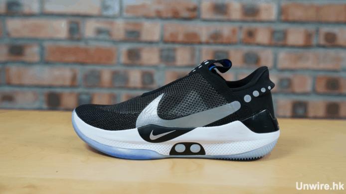 【實試】Nike Adapt BB 自動綁帶球鞋 手機調校鬆緊度+無線充電夠方便 - 香港 unwire.hk