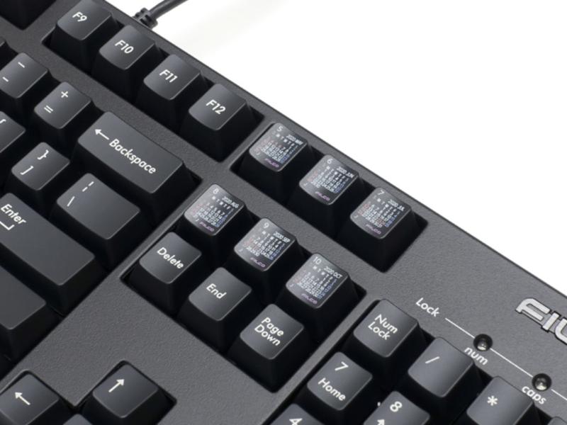 Filco 2020 日曆鍵盤 便於確認日期 - 香港 unwire.hk