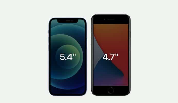 iPhone 12 mini vs iPhone SE 2020 「細機皇」技術規格詳細對比 - 香港 unwire.hk