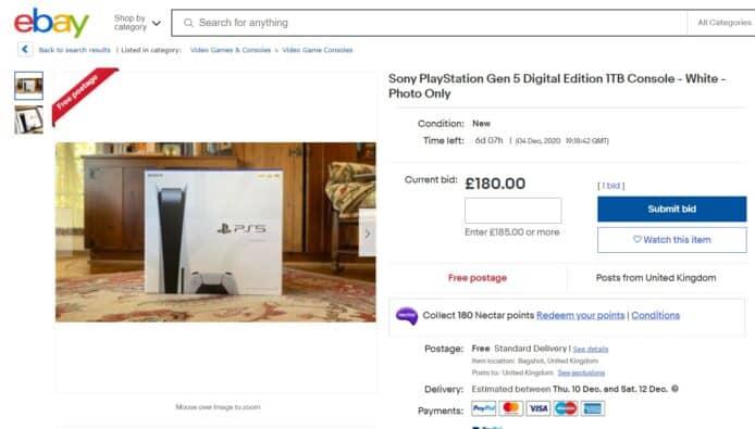賣 PS5「照片」及「空箱」新騙案 eBay 譴責行騙賣家 - 香港 unwire.hk