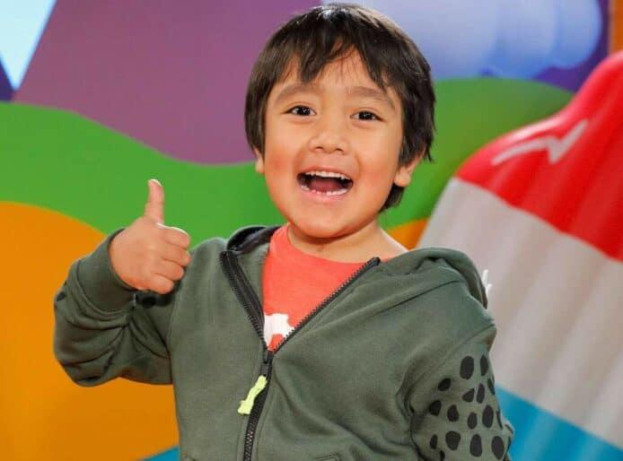 9歲童蟬聯最高收入YouTuber 狂賺2.3億再賺15.7億品牌贊助 - 香港 unwire.hk