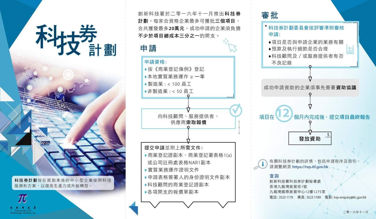 科技券計劃今起接受申請 2:1 配對方式中小企最多可獲 20 萬資助 - UNWIRE.PRO