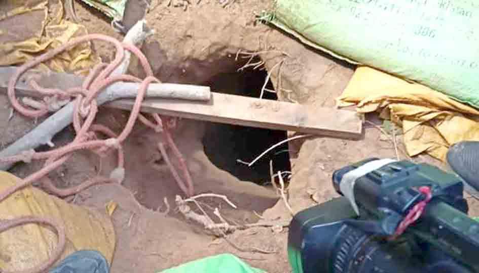 کشمیر بین الاقوامی سرحد پر بڑی سرنگ دستیاب