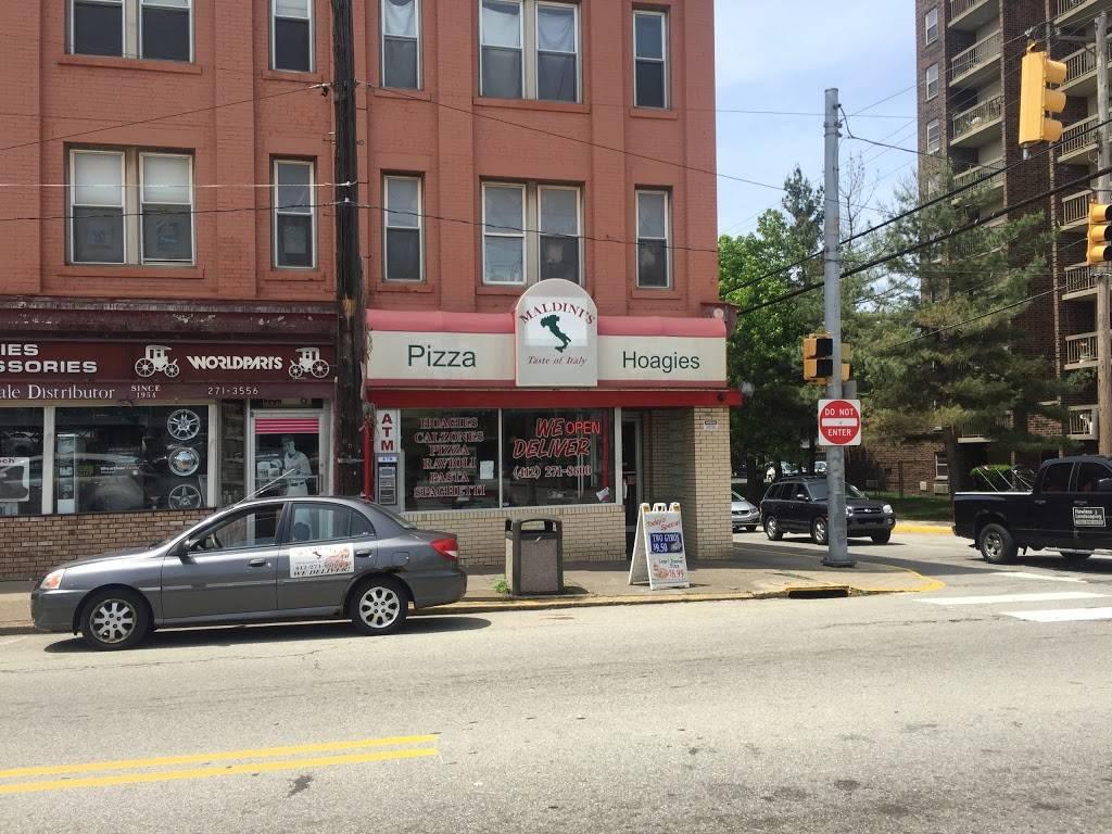 Maldini's Pizza - Restaurant | 1900 Monongahela Ave. Swissvale. PA 15218. USA