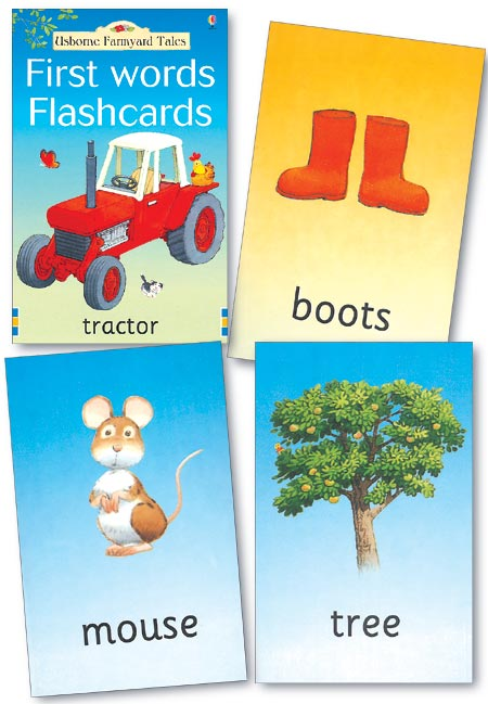 """""""farmyard Tales First Words Flashcards"""" At Usborne Books At Home"""