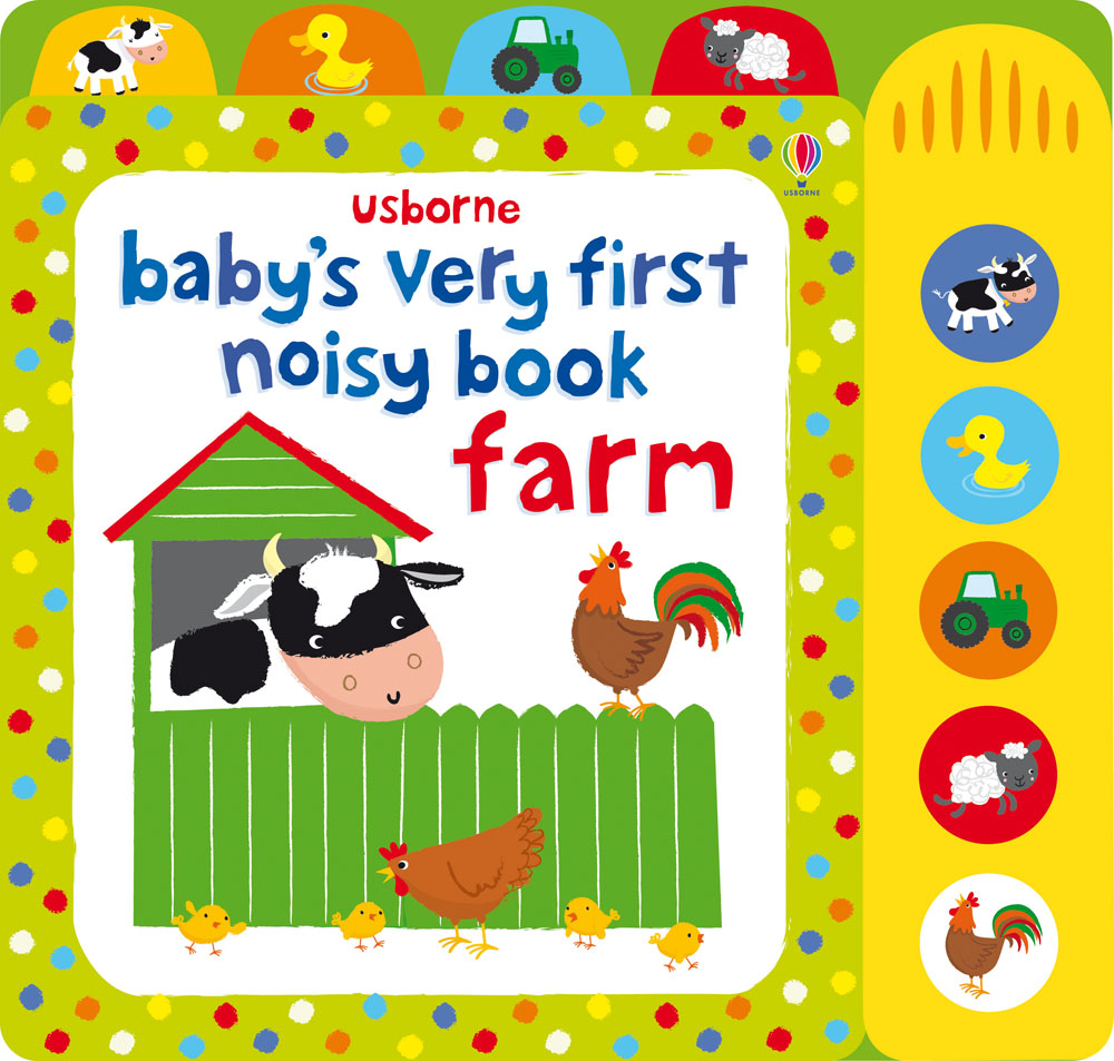 """""""Baby's very first noisy book: Farm"""" at Usborne Books at Home"""