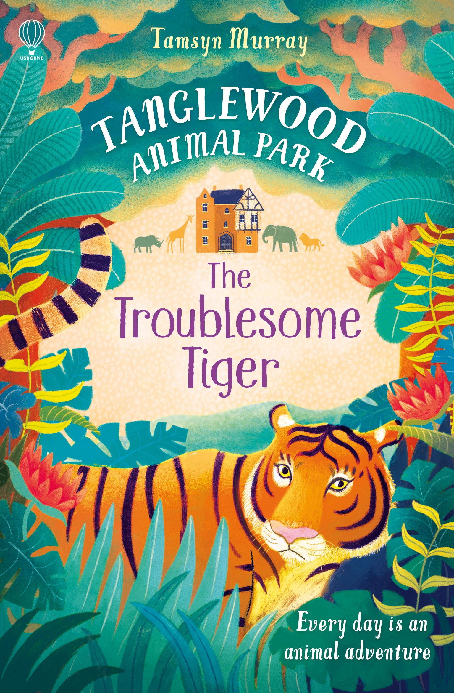 The Troublesome Tiger at Usborne Childrens Books