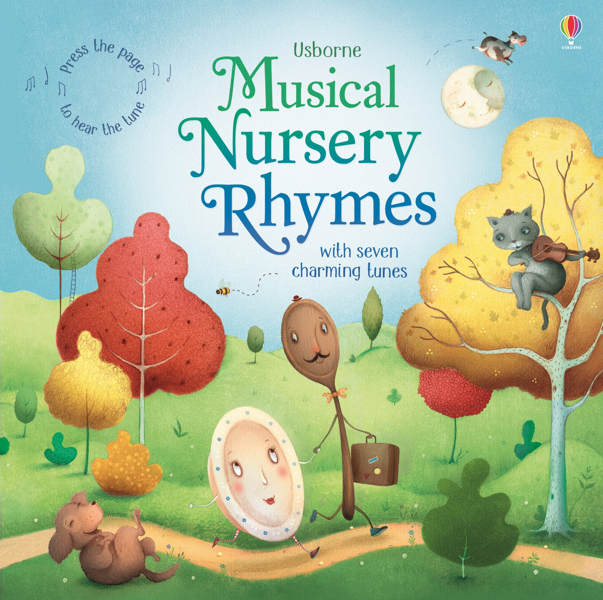 """""""Musical nursery rhymes"""" at Usborne Books at Home"""