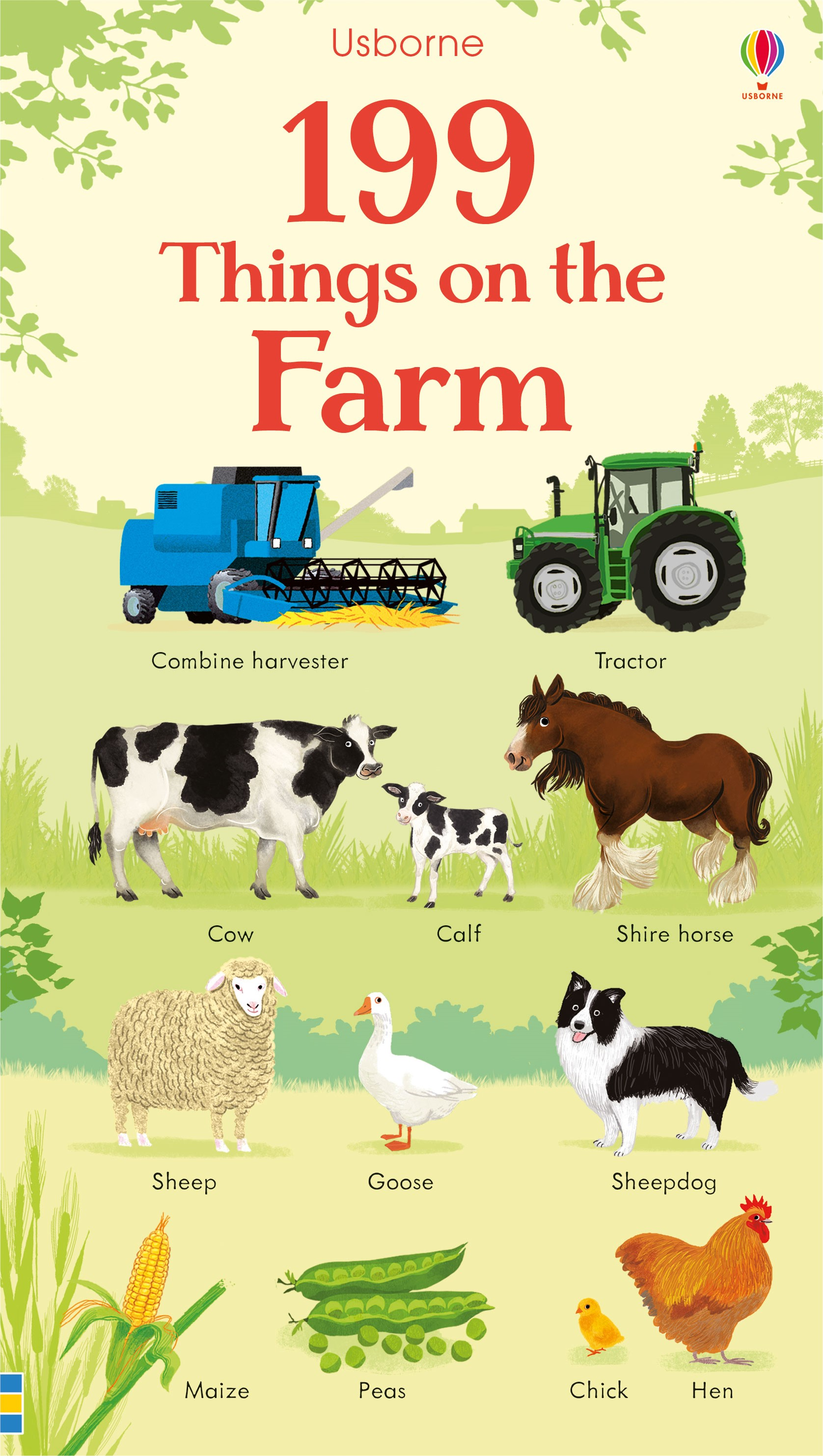 199 things on the farm at Usborne Childrens Books