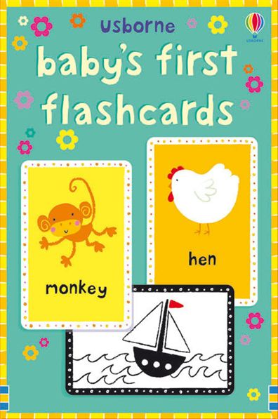 """baby's First Flashcards"" At Usborne Books At Home"