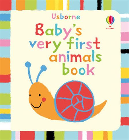 """Baby's very first animals book"" at Usborne Books at Home"