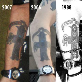 Name Tattoos Of Rockstar