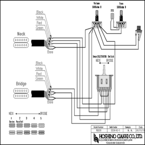 [DIAGRAM] Humbucker Wiring Diagram Rg FULL Version HD
