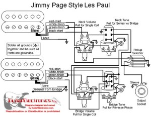 Les Paul EMG 'Jimmy Page' wiring  Ultimate Guitar