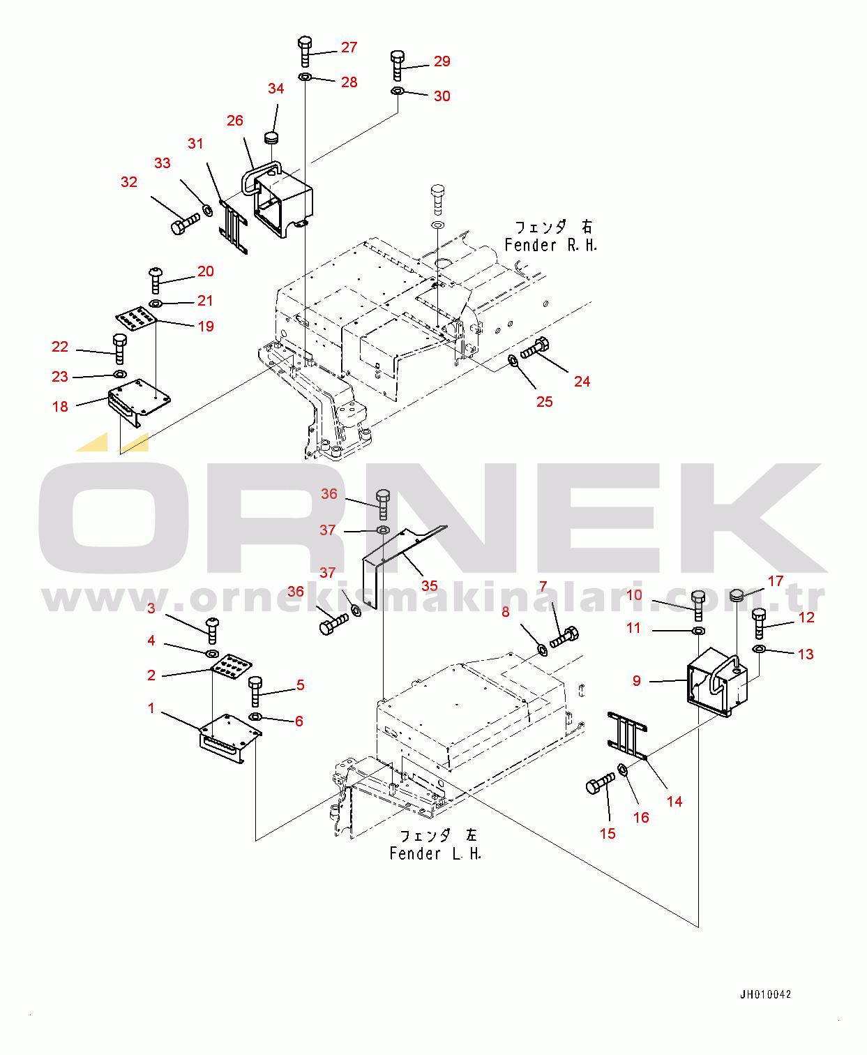 Komatsu D375a 6 S N Up