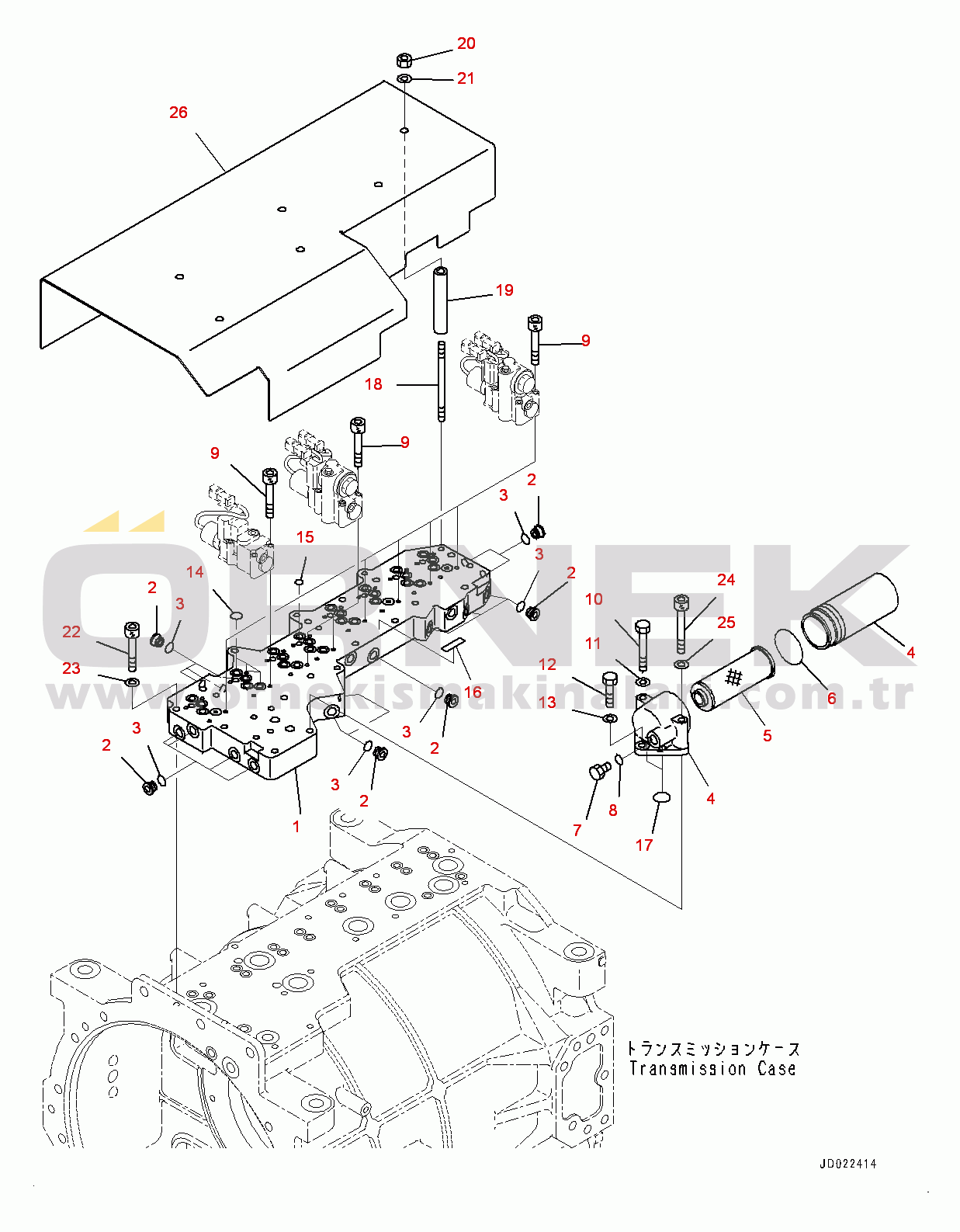 Komatsu HD465-7R S/N 15352-UP 5691581730