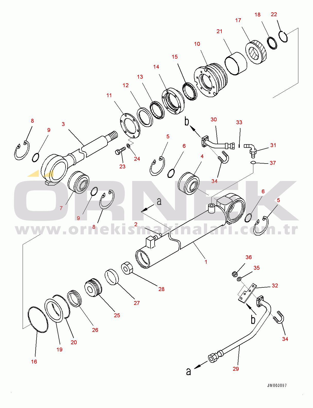 Komatsu HD785-7 S/N 30001-UP (KAL Spec.) 707000G703