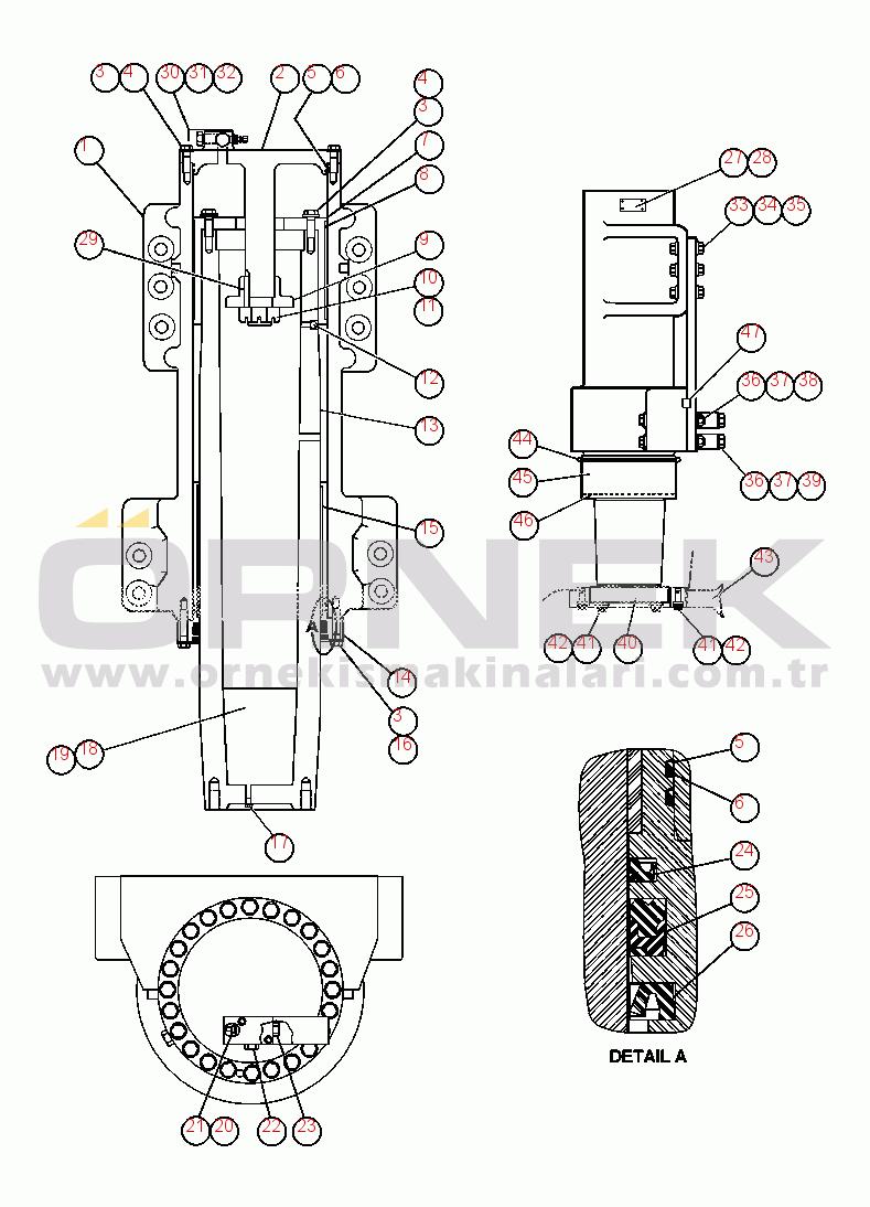 Komatsu AFE52-Y 930E-3 S/N A30385-A30388 WAMBO COAL WA0370