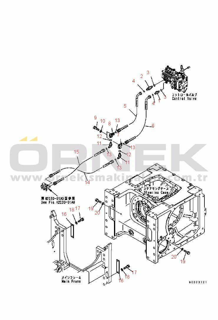 Komatsu D61EX-15 S/N B40001-UP 1346273250