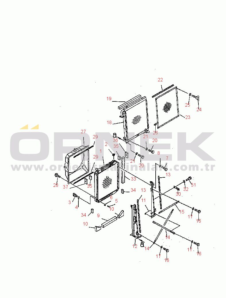 Komatsu PC200-6B / PC200LC-6B HYDRAULIC EXCAVATOR 20Y0327120