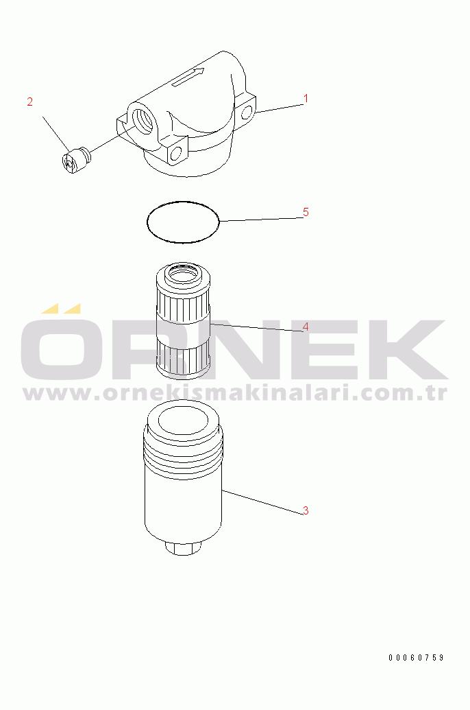 Komatsu PC228US-3E0 S/N 40001-UP (TIER 3) 20Y6251691