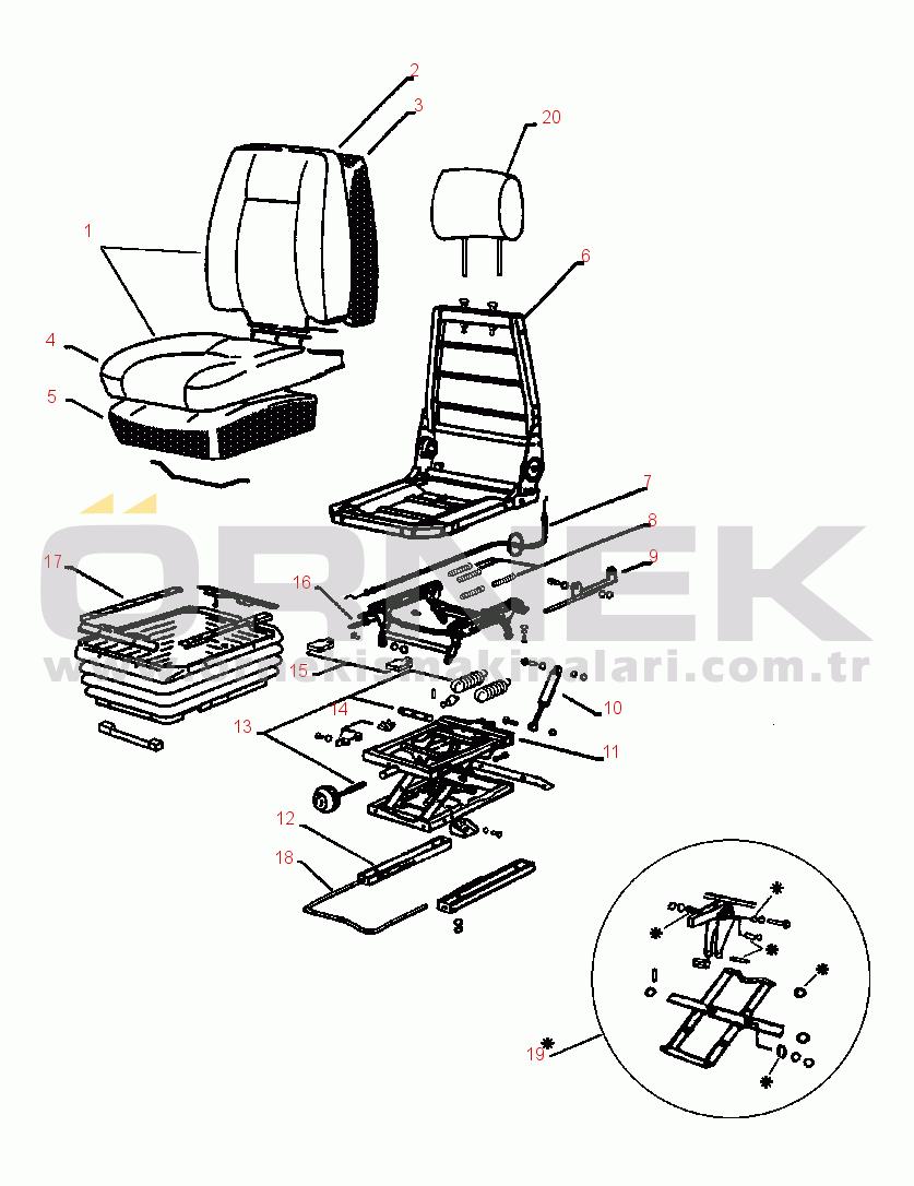Komatsu PC400LC-5 S/N A40001-A70500 20657A1560