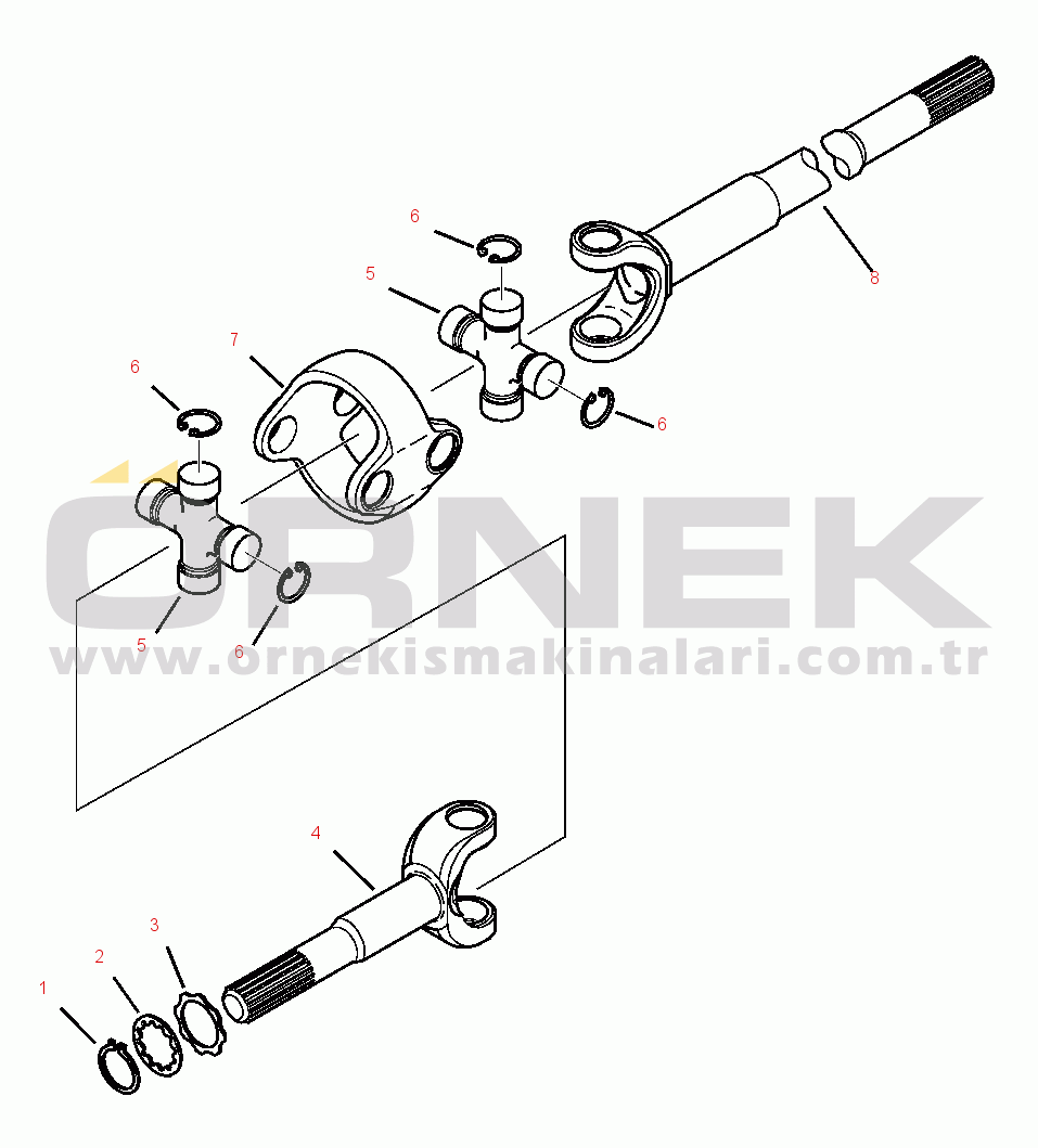 Komatsu WB146-5 S/N A23001-UP CA0024799