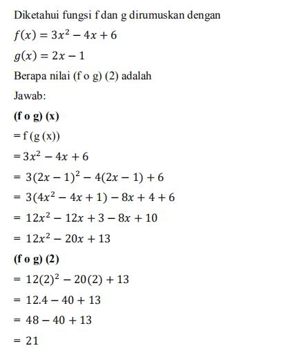 Rumus Invers Fungsi : rumus, invers, fungsi, Fungsi, Komposisi, Invers, Lengkap, Dengan, Contoh, Pembahasan
