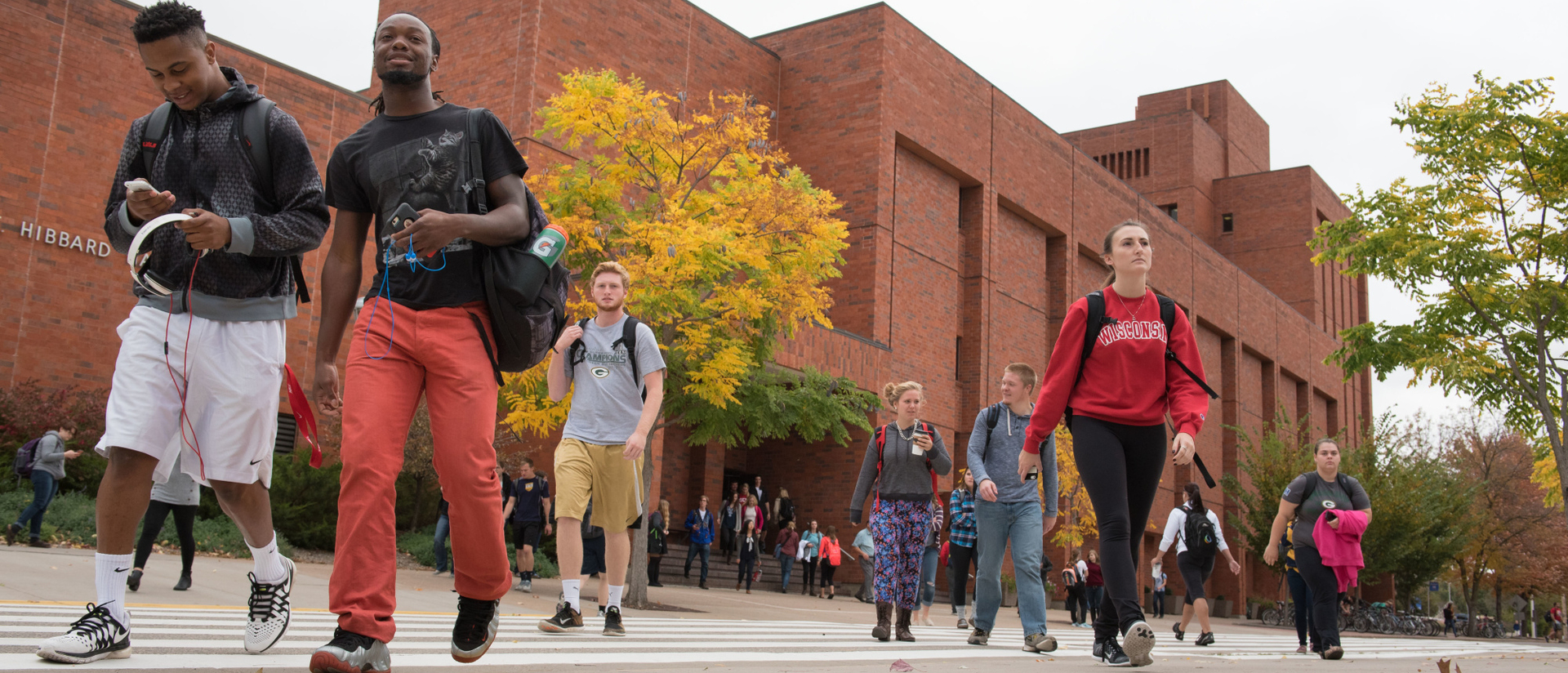 Students Walking Away From Hibbard!