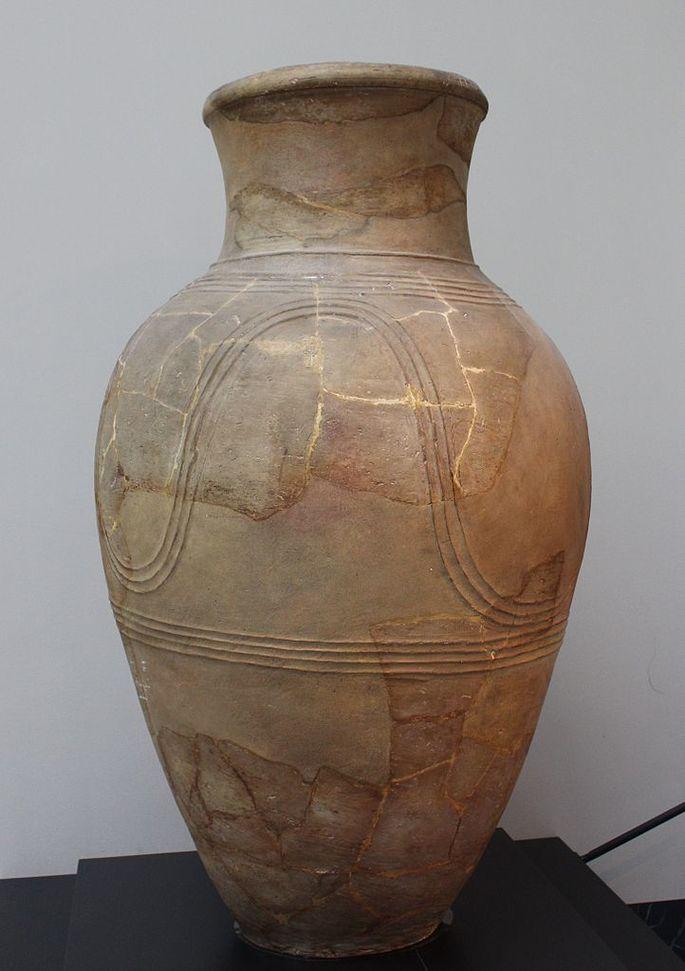 Pypot, myöhäinen Kyproksen pronssi ikä, OK. 1400-1200 Bc e.