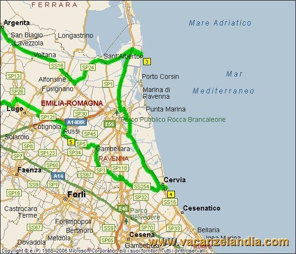 Itinerari Diari di Viaggio Emilia Romagna Cervia 1