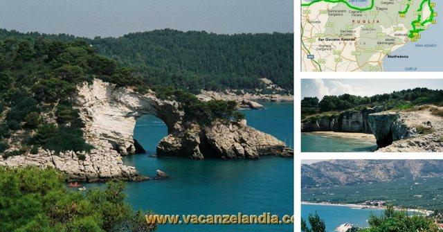 Itinerari Diari di Viaggio Puglia Gargano  Contenuti