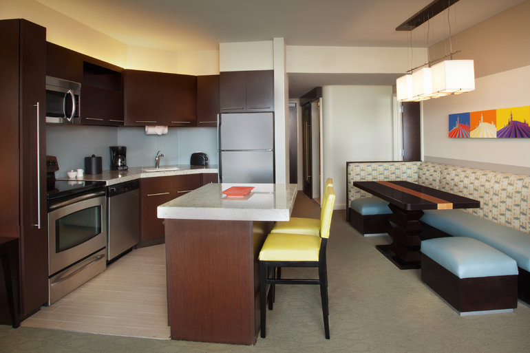 One-Bedroom, Two-Bath Standard View
