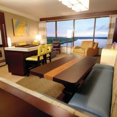 Twin Sleeper Chair Girls Desk Chairs Two-bedroom, Three-bath Lake View | Bay Tower At Disney's Contemporary Resort Orlando ...
