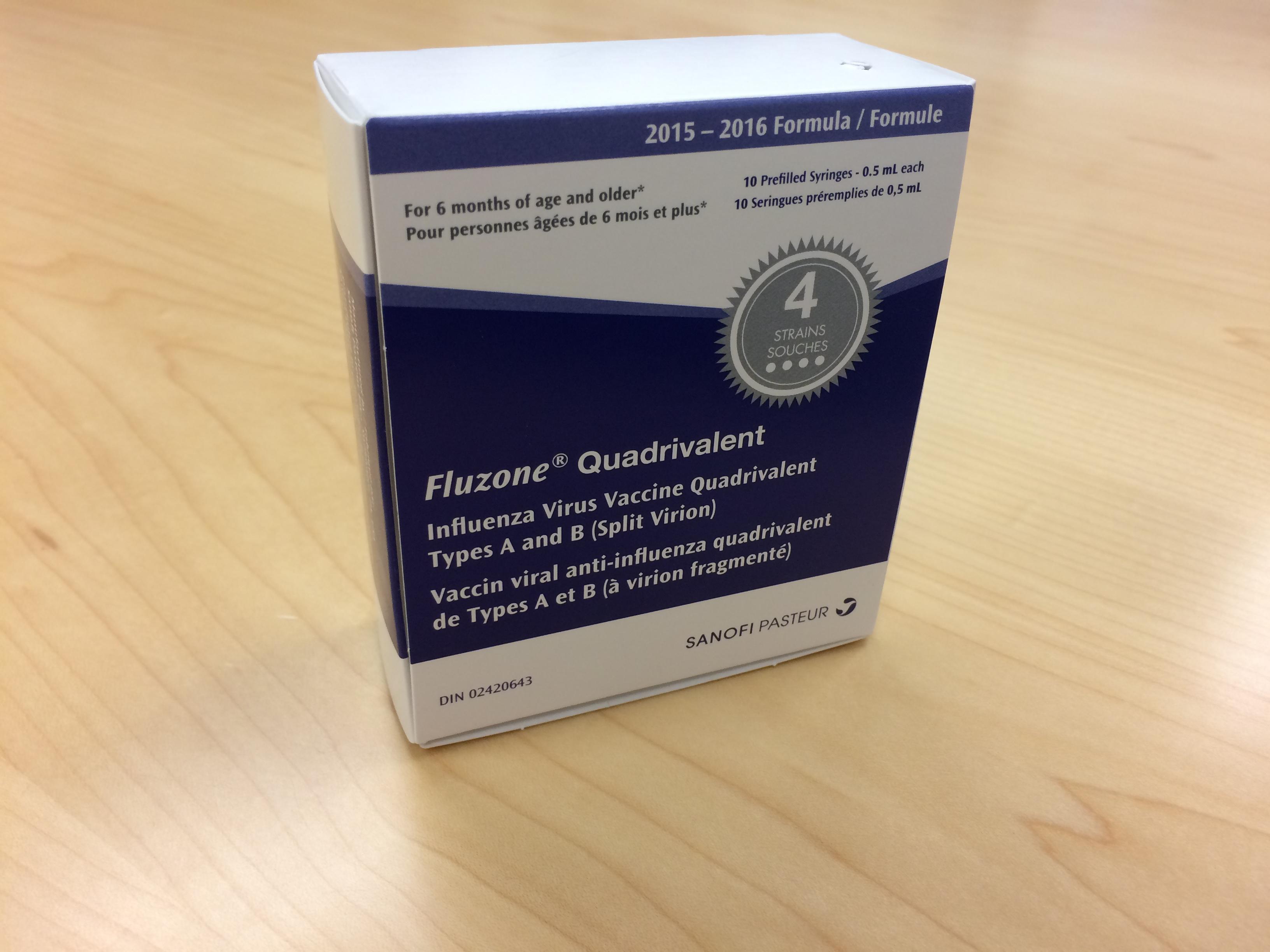 Influenza (Fluzone) Quadrivalent - Vaccine Ingredients