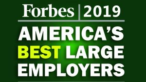 Forbes 2019 Best Employers