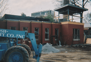 Renovation and expansion of the Black Cultural Center in the early 2000s (Lost in the Ivy Archive)