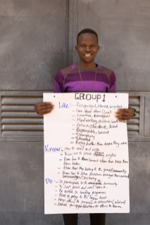 Boyette and his team are training future teachers who will serve in the Nuba Mountains' schools.