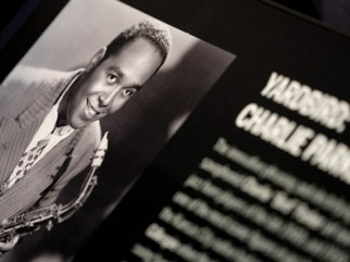 Jazz legend Charlie Parker is just one of the jazz greats featured in the exhibit A Love Supreme. Music composed by Parker and other African American jazz, classical and popular composers was included in a concert featuring Blair faculty and students to celebrate the opening of NMAAM in January. An interactive in A Love Supreme allows the visitor to learn about improvisation and ultimately leave the exhibit with a snippet of their own improvisation on an RFID bracelet.