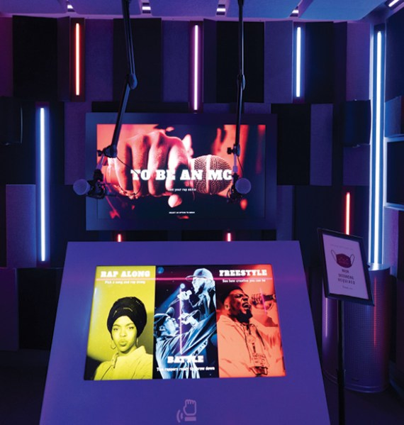 The Message, a National Museum of African American Music exhibit on the origins and influence of hip hop, looks at oral traditions in African American culture.