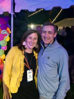 Abby and Jens returned to Vanderbilt in 2018 for reunion weekend.