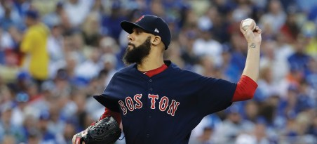 photo of David Price pitching