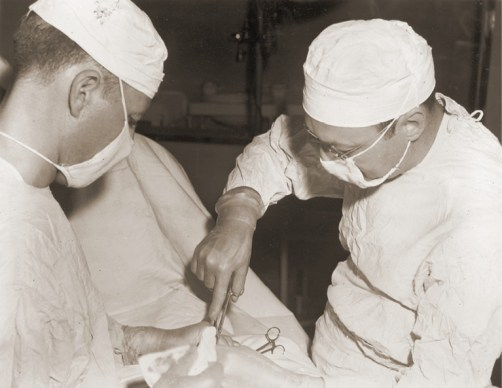 photo of Vanderbilt physicians during the 1940s