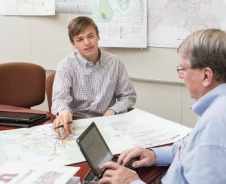 Meeting at the Metropolitan Planning Office (JOE HOWELL)